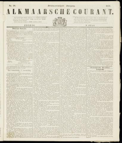 Alkmaarsche Courant 1871-07-09