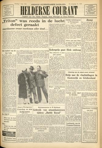 Heldersche Courant 1954-09-07