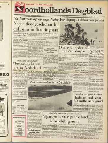 Noordhollands Dagblad : dagblad voor Alkmaar en omgeving 1963-09-05