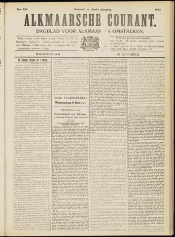 Alkmaarsche Courant 1908-10-29