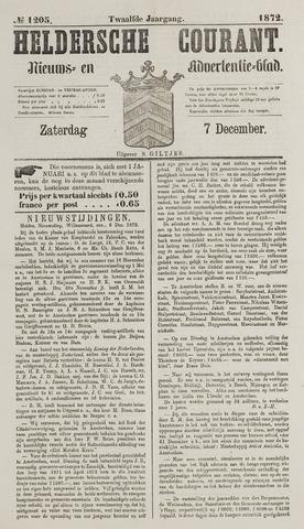 Heldersche Courant 1872-12-07
