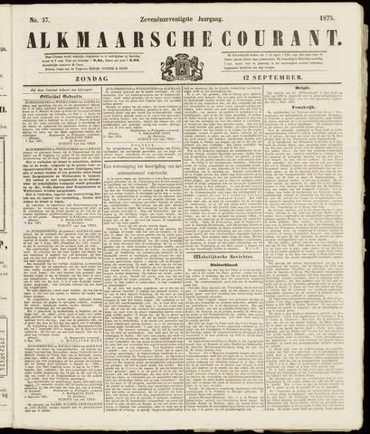 Alkmaarsche Courant 1875-09-12