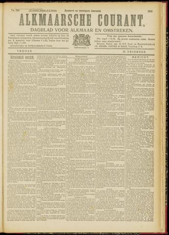 Alkmaarsche Courant 1918-12-20