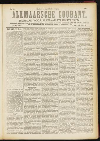 Alkmaarsche Courant 1917-09-18