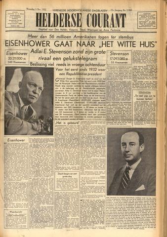 Heldersche Courant 1952-11-05