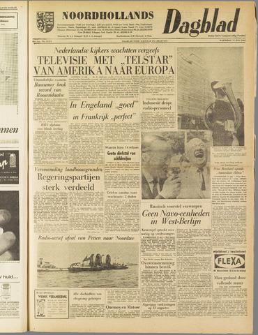 Noordhollands Dagblad : dagblad voor Alkmaar en omgeving 1962-07-11