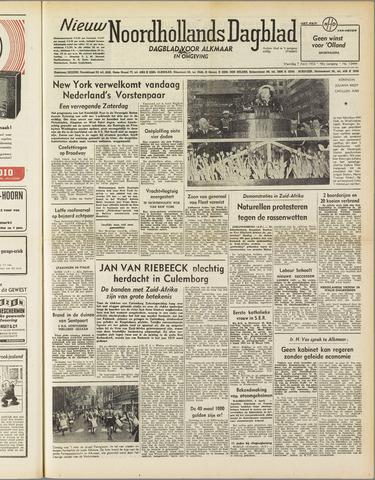 Nieuw Noordhollandsch Dagblad : voor Alkmaar en omgeving 1952-04-07
