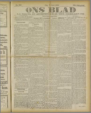 Ons Blad : katholiek nieuwsblad voor N-H 1919-06-09