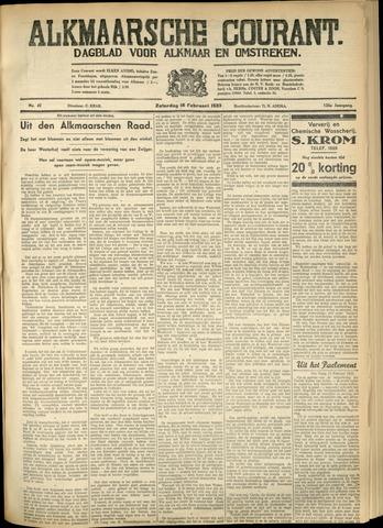 Alkmaarsche Courant 1933-02-18