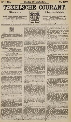 Texelsche Courant 1900-09-16
