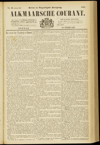 Alkmaarsche Courant 1895-02-24