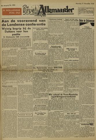 De Vrije Alkmaarder 1947-11-17