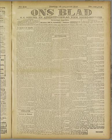 Ons Blad : katholiek nieuwsblad voor N-H 1919-08-26