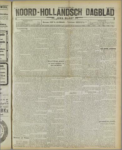 Ons Blad : katholiek nieuwsblad voor N-H 1921-10-24