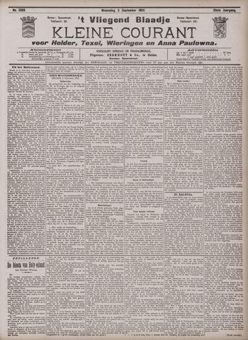 Vliegend blaadje : nieuws- en advertentiebode voor Den Helder 1902-09-03