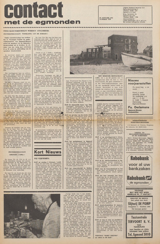 Contact met de Egmonden 1975-01-29