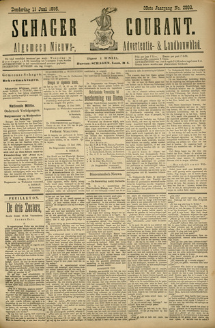 Schager Courant 1895-06-13