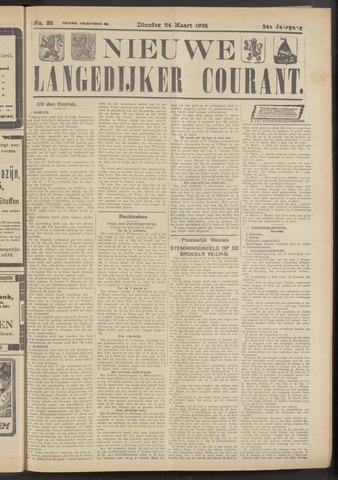 Nieuwe Langedijker Courant 1925-03-24