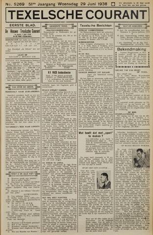 Texelsche Courant 1938-06-29