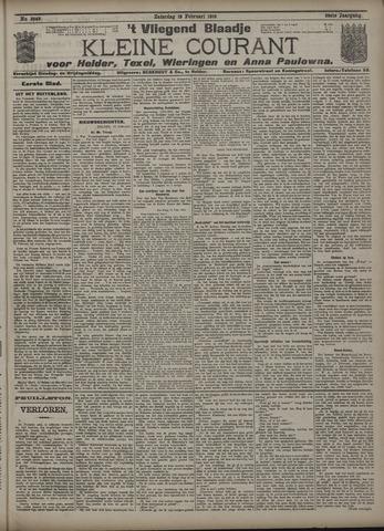 Vliegend blaadje : nieuws- en advertentiebode voor Den Helder 1910-02-19