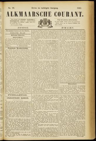 Alkmaarsche Courant 1885-03-29