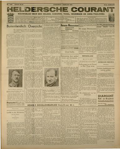Heldersche Courant 1934-02-01