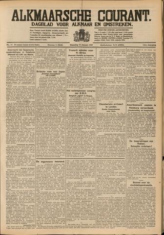 Alkmaarsche Courant 1939-01-16