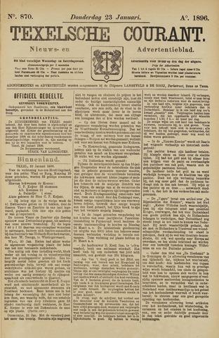 Texelsche Courant 1896-01-23