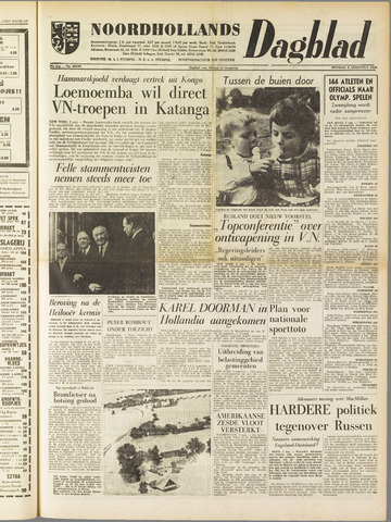 Noordhollands Dagblad : dagblad voor Alkmaar en omgeving 1960-08-02