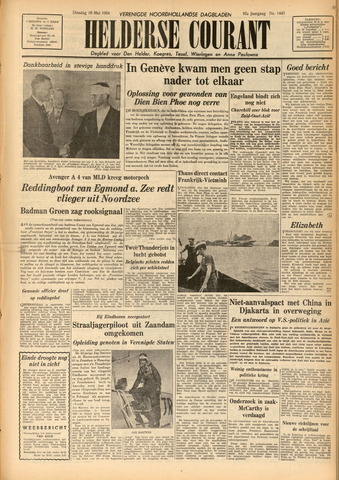 Heldersche Courant 1954-05-18