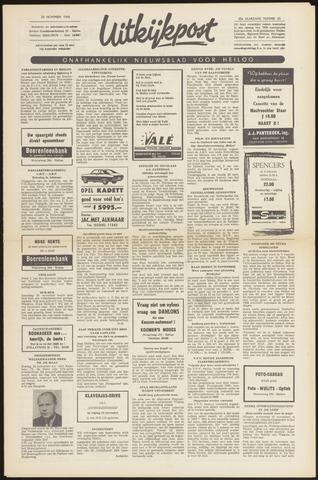Uitkijkpost : nieuwsblad voor Heiloo e.o. 1968-11-20