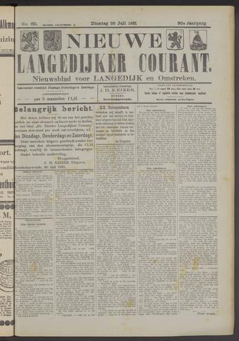 Nieuwe Langedijker Courant 1921-07-26