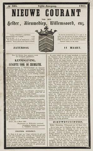 Nieuwe Courant van Den Helder 1865-03-11