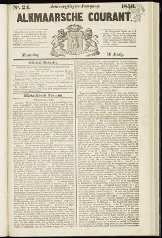 Alkmaarsche Courant 1856-06-16