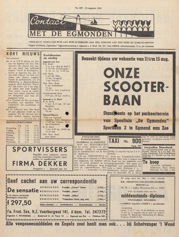 Contact met de Egmonden 1965-08-12