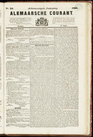 Alkmaarsche Courant 1866-06-17