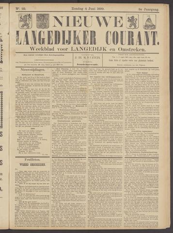 Nieuwe Langedijker Courant 1899-06-04