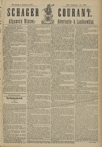 Schager Courant 1911-08-02