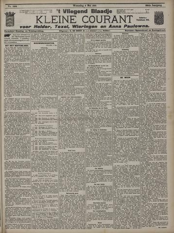 Vliegend blaadje : nieuws- en advertentiebode voor Den Helder 1910-05-04