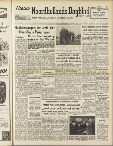 Nieuw Noordhollandsch Dagblad : voor Alkmaar en omgeving 1951-03-02