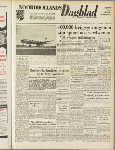 Noordhollands Dagblad : dagblad voor Alkmaar en omgeving 1953-12-02
