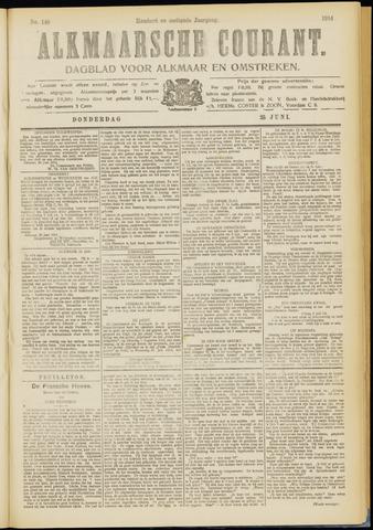 Alkmaarsche Courant 1914-06-25