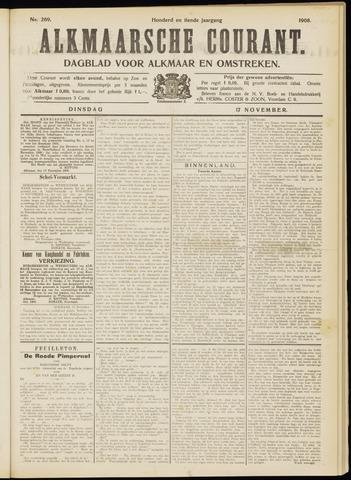 Alkmaarsche Courant 1908-11-17