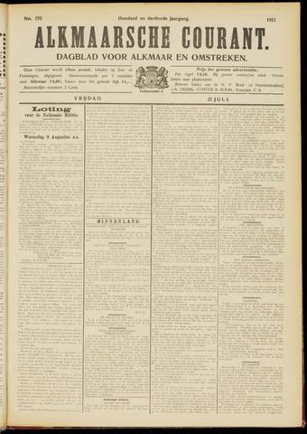Alkmaarsche Courant 1911-07-21