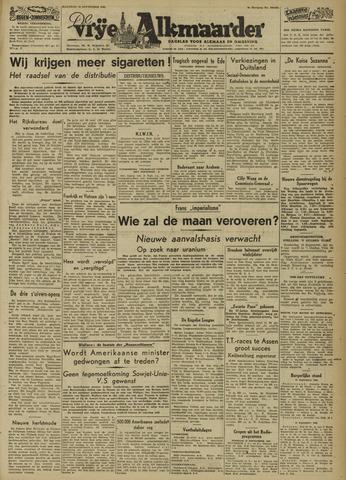 De Vrije Alkmaarder 1946-09-16