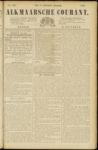 Alkmaarsche Courant 1882-12-24