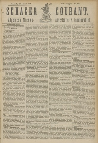 Schager Courant 1911-01-26