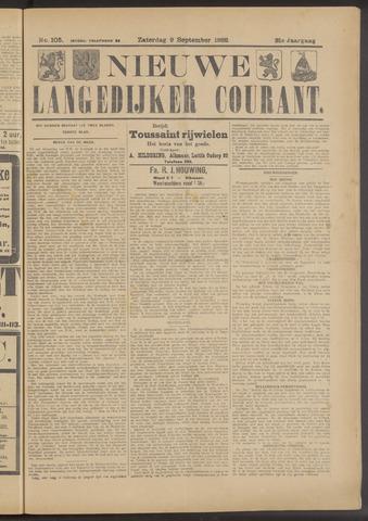 Nieuwe Langedijker Courant 1922-09-09