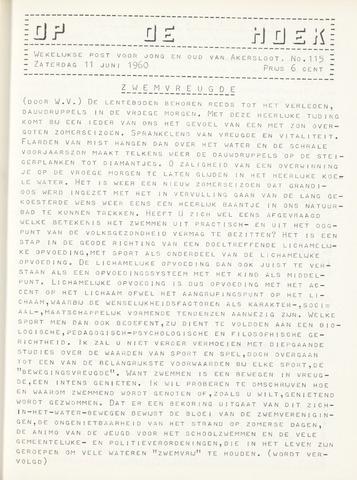 Op De Hoek, weekblad voor Akersloot 1960-06-11