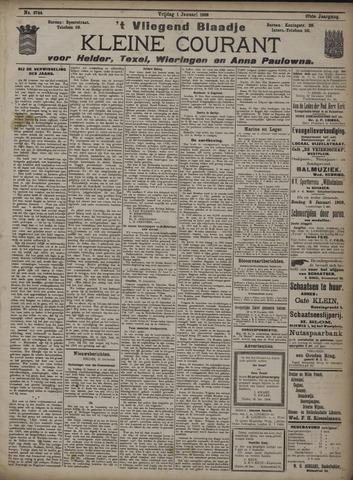 Vliegend blaadje : nieuws- en advertentiebode voor Den Helder 1909-01-01